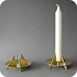 Candleholders brass Pierre Forsell .......................950 SEK