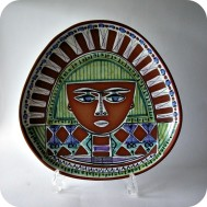 Jani Keramik Ceramics wall plate ....SOLD