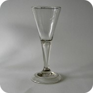 Antique whine glass  from 18th century