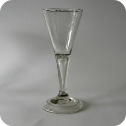 Antique whine glass  from 18th century ................1 900 SEK