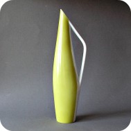Beate Kuhn  vase with handle