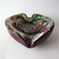 3510: Heart formed bowl / ashtray .. 750 SEK