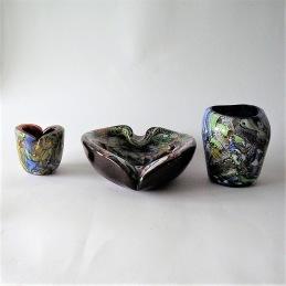 AVEM, Murano, Italy Three glass items ....... 1 600 SEK /3 items