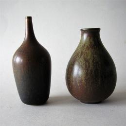 Gunnar Nylund Rorstrand Sweden .................... 1 750/2 vases