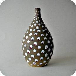 Sven Hofverberg, Landskrona vase with dots .......600 SEK