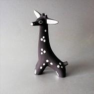 Jaap Ravelli earthenware giraffe figurine