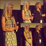 Q&A at Sundance Film Festival, 2014.