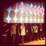 Q&A after one of the screenings at Sundance.