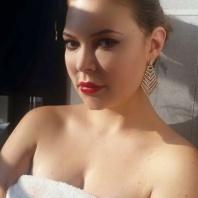 Jenny Hutton. Actress, On set independant film, indie film actress. NYC December 2015