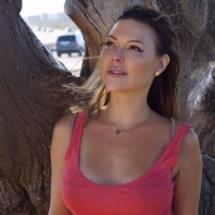 Photo shoot model actress from Sweden (Scandinavian, Swedish, English, British) actress Jenny Hutton, Los Angeles