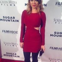 Sundance film festival, model actress from Sweden (Scandinavian, Swedish, English, British) actress Jenny Hutton, Los Angeles