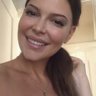 Jenny Hutton, happy actress, Los Angeles, 2017