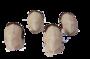 Marsipan Figurer - Marsipan Gris 12g