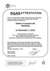 SQAS attestation Göteborg