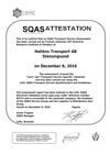 SQAS attestation Stenungsund