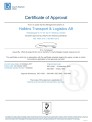 ISO 9001 / ISO 14001 Certificate