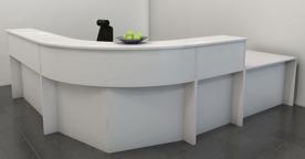 Receptionsdisk från Lanab design.