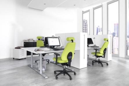 Kontorssmöbler, Lanad design stol