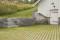 42538 Bender grasarmering, Megawall Projekt grafit, Importgranit blocksteg modern screen