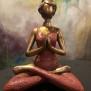 Yogakvinna - Yogakvinna röd