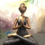 Yogakvinna - Yogakvinna svart