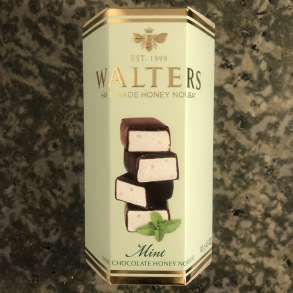 Walters handmade Mint honey nougat -