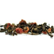 Gröna löv & röda bär grönt te 100 gram