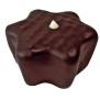 Chokladpraliner olika sorter - Vaniljstjärna, mörk choklad 60%
