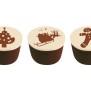 Chokladpraliner olika sorter - Pralin, julmotiv, mörk choklad, julkryddor, nougat