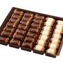 Chokladpraliner olika sorter - Valnötsmarsipan mörk