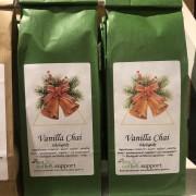 Vanilla chai, grönt, ekologiskt te. 100 gram