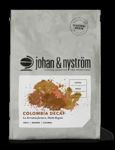 Colombia koffeinfritt kaffe, 250 gram - Colombia koffeinfritt hela bönor