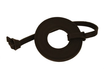 Läder Ringen - Ljusbrun