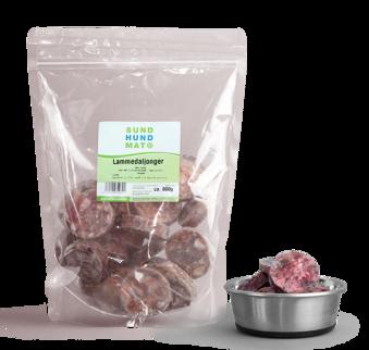 Lammedaljonger, 800 g - lammblandning 800 gr