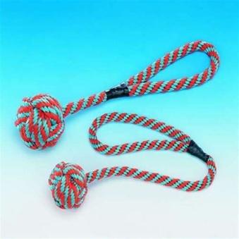 Nylon-Boll med rep