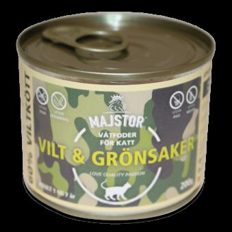 Majstor Vilt & Grönsaker 200g - Vilt