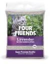 FourFriends Kattsand Lavendel