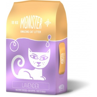 Monster kattsand - Monster kattsand 10 kg