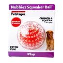 Hundleksak Nubbiez Squeaker Ball