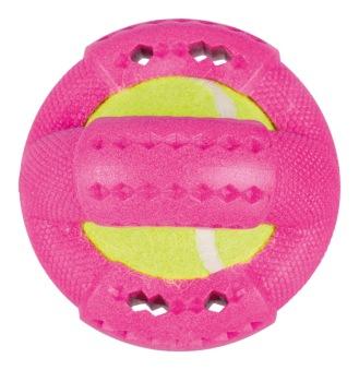 Ring med tennisboll, TPR-foam, flytande -