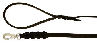 Koppel - Svart  6 mm  180 cm