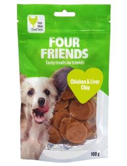 Chicken & Liver Chip 100 gr - Chicken & Liver Chip