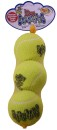 Kong Air Squeaker Tennisboll 3p