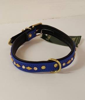 Fast halsband med dekor - 32/11