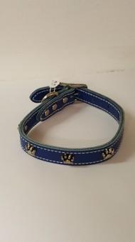 Halsband med tassar - 38,5 cm/16 mm