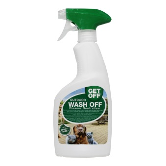 Get Off/Wash Off Outdoor avvisning -