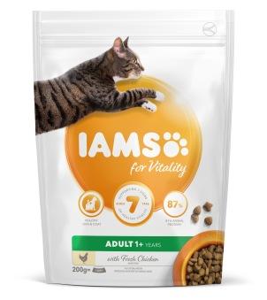 IAMS for Vitality foder för vuxna katter - Iams 200 gr