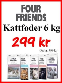 Four friends kattfoder 6kg -