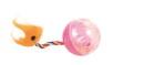 Kattleksak Plastboll med svans