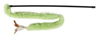 Vippa med plyschband - Grön